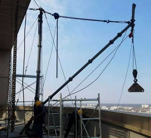 高层吊装搬运施工
