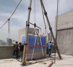 高层人工扒杆吊装搬运